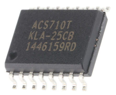 Allegro Microsystems - ACS710KLATR-25CB-T - Allegro Microsystems ACS710KLATR-25CB-T, 霍��效���鞲衅� ��O, 3 to 5.5 V, 16� SOIC W封�b