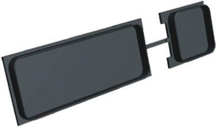 TE Connectivity - 211600-2 - TE Connectivity ARINC 600 系列 热塑性 灰尘 外罩 211600-2, 使用于 ARINC 600 系列