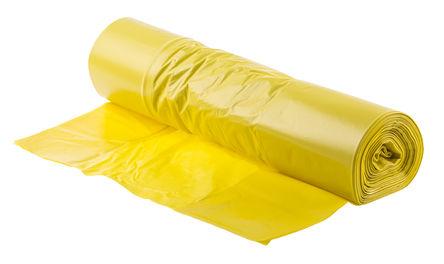 RS Pro - 34-2016 - RS Pro 50件装 黄色 塑料 垃圾袋 34-2016, 规格号200