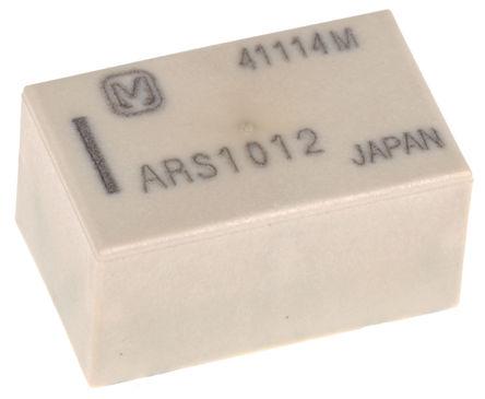 Panasonic - ARS1012 - Panasonic 单刀双掷 PCB 高频继电器 ARS1012, 3GHz, 12V dc