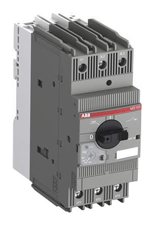 ABB - MS165-65 - ABB MS 系列 MS165 系列 30 kW 手动启动器 1SAM451000R1017, 600 V 交流, 65 A