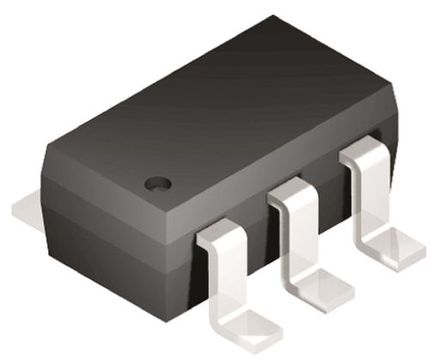Microchip - 25AA010AT-I/OT - Microchip 25AA010AT-I/OT 串行 EEPROM 存�ζ�, 1kbit, SPI接口, 100ns, 1.8 → 5.5 V, 6引�_ SOT-23封�b