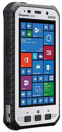 Panasonic - FZ-E1BFCAACE - Panasonic 5in屏幕 1280 x 720pixels 2GB RAM Toughpad, Windows 嵌入式 8.1 手持设备, 426.4g