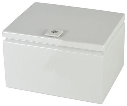 Rittal - JB100806HC - Rittal JB 系列 浅灰色 碳钢 IP66 接线盒 JB100806HC, 200 x 150 x 250mm