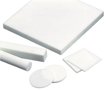 MACOR - MPLATE 2/50/50 - MACOR MPLATE 2/50/50 白色 可机械加工陶瓷 板, A 48 洛氏硬度, 2.52g/cm3密度, 50mm长 x 50mm宽 x 2mm厚