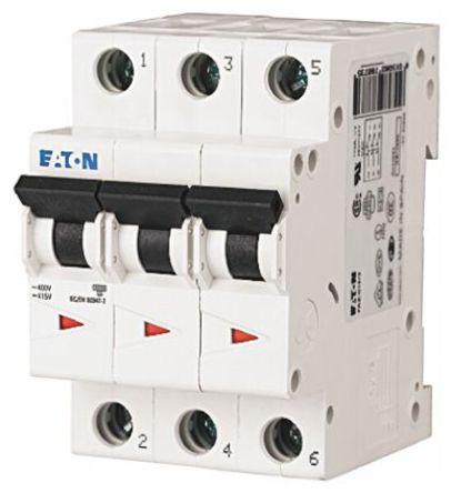 Eaton - FAZ6-B6/3 - Eaton xEffect FAZ6 系列 3�O 6 A MCB 微型�嗦菲� FAZ6-B6/3, 6 kA �嚅_能力, B型 跳�l特性