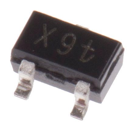 Infineon - BFR 181W H6327 - Infineon BFR 181W H6327 NPN 晶�w管, 20 mA, Vce=12 V, HFE:70, 8 GHz, 3引�_ SOT-323封�b