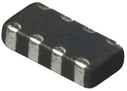 Murata - DLP2ADN900HL4L - Murata DLP 系列 DLP2ADN900HL4L 表面贴装 共模扼流圈, 1.7Ω直流电阻, 130 mA, 2 x 1 x 0.82mm, 0804封装
