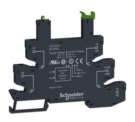 Schneider Electric - SSLZVA3 - 1件 固态继电器安装套件