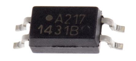 Broadcom - ACPL-217-50BE - Broadcom 光耦 ACPL-217-50BE, 直流�入, 晶�w管�出, 4引�_ SO 封�b