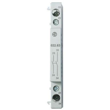 Finder - 022.63 - DIN Rail 辅助触点块, DPNO