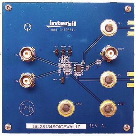 Intersil - ISL28134SOICEVAL1Z - Intersil 模拟开发套件 ISL28134SOICEVAL1Z