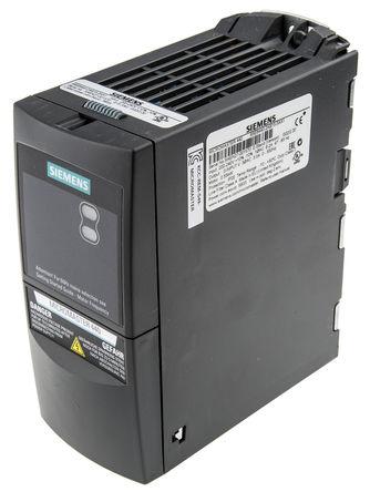 Siemens - 6SE64402AB155AA1 - Siemens MICROMASTER 440 系列 IP20 0.55 kW 变频器驱动 6SE64402AB155AA1, 0 → 550 Hz, 6.2 A, 200 → 240 V 交流