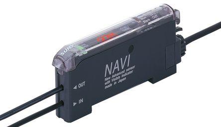 Panasonic - FX-301P - Panasonic FX-301P 塑料 光纤传感器, 10 → 150 Hz, 红色 LED光源, PNP输出, 960 mW, 12 → 24 V 直流