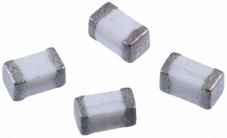 Murata - LQG15HN5N1S02D - Murata LQG15HN 系列 LQG15HN5N1S02D 5.1 nH ±0.3nH 多层贴片式电感器, 0402封装, SRF: 6000MHz Q: 8 300mA dc 240mΩ Rdc