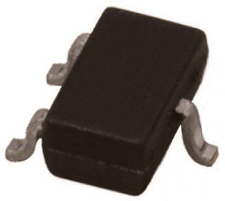 Broadcom - HSMS-8202-BLKG - Broadcom HSMS-8202-BLKG 射频混频器 肖特基 二极管, Io=10mA, Vrev=4V, 3引脚 SOT-23封装