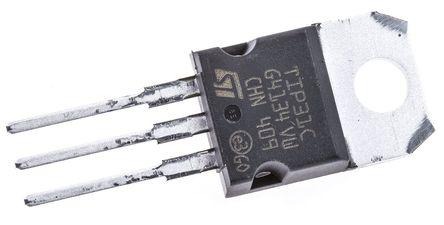 STMicroelectronics - TIP31C - STMicroelectronics TIP31C , NPN 晶体管, 3 A, Vce=100 V, HFE:10, 3引脚 TO-220封装