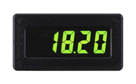 Red Lion - CUB4CL30 - Red Lion CUB4 系列 3.5位 LCD 数字面板式电流表 CUB4CL30, 0°C 至 +60°C