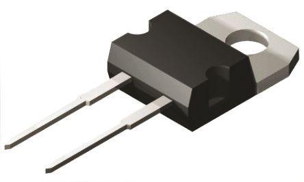 STMicroelectronics - STPS30SM60D - STMicroelectronics STPS30SM60D 肖特基 二极管, Io=30A, Vrev=60V, 2引脚 TO-220AC封装