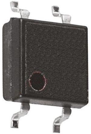 Panasonic - AQY221N2S - Panasonic 120 mA PCB安装 单极常开 固态继电器 AQY221N2S, MOS 照片输出, 40 V