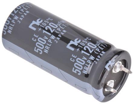 NIC Components NRLPW121M500V22X50SF