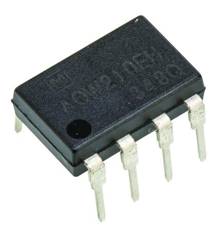 Panasonic - AQW210TS - Panasonic 0.12 A PCB安装 固态继电器 AQW210TS, MOSFET输出, 350 V