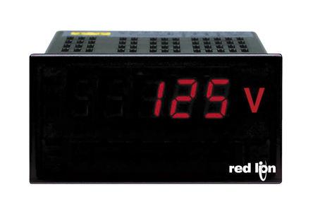 Red Lion - PAXLHV00 - Red Lion PAXLH 系列 PAXLHV00 3位 LED显示 交流 数字面板式电压表, 92 x 45 mm, 0°C至60°C