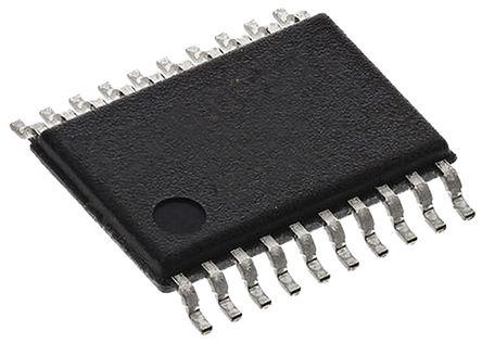 STMicroelectronics - ST2378ETTR - STMicroelectronics ST2378ETTR 逻辑电平转换器, 开路漏极,图腾柱输出, 1.71 → 5.5 V电源, 20引脚 TSSOP封装