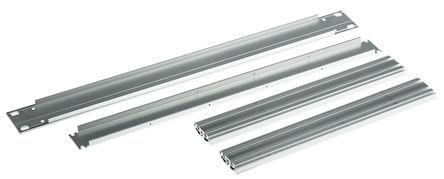 Schroff - 20860202 - Schroff Multipac Multipac 系列 天然色 铝/挤制铝 1U 机架式机箱 20860202, 280mm深