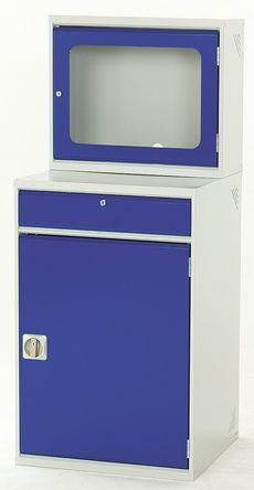 Bott - 16912308.11v - Bott 16912308.11v 蓝色 电镀钢 电脑存储柜, 尺寸1550 x 650 x 550mm