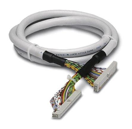 Phoenix Contact - 2304717 - Phoenix Contact 2304717 5m IDC 14 针 - IDC 14 针 母 - 母 电缆