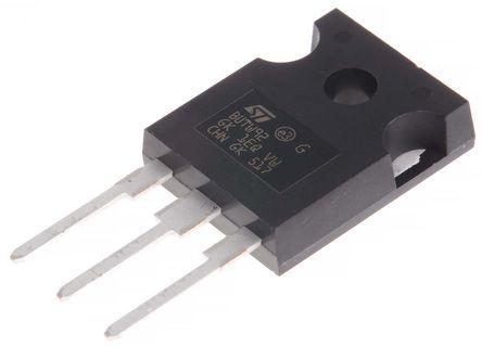STMicroelectronics - BUTW92 - STMicroelectronics BUTW92 , NPN 晶体管, 60 A, Vce=250 V, HFE:6, 3引脚 TO-247封装