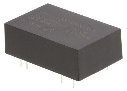 Recom - REC5-1205SRWH4/A - Recom REC5 系列 5W 隔�x式直流-直流�D�Q器 REC5-1205SRWH4/A, 9 → 18 V 直流�入, 5V dc�出, 1A�出, DIP封�b