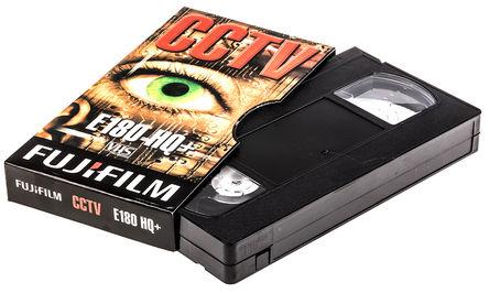 Fuji - P10VVHIA01A - VN180HQ high quality VHS CCTV video ta