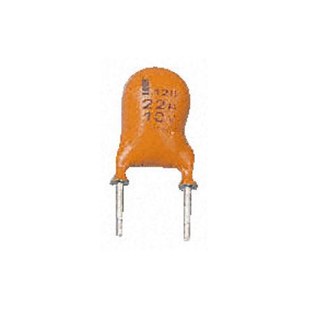 Vishay - MAL212856108E3 - Vishay 128 系列 16 V 直流 15μF 通孔 铝电解电容器 MAL212856108E3, ±20%容差, 200Ω(等值串联), 最高+85°C