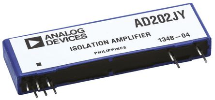 Analog Devices - AD202JY - Analog Devices AD202JY 隔离放大器, 15 V, 11引脚 SIP封装