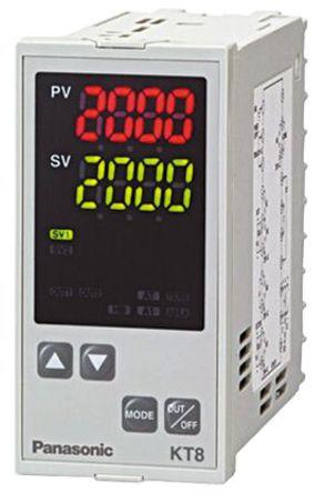 Panasonic - AKT8111100 - Panasonic KT7 系列 PID 温度控制器 AKT8111100, 48 x 96mm, 100 → 240 V 交流, 1输出