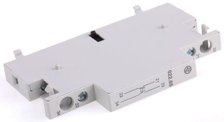 Finder - 022.65 - DIN Rail 辅助触点块, 单刀双掷
