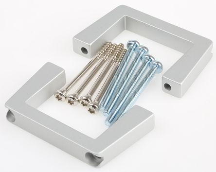 Schroff - 20860257 - Schroff 铝 前把手 20860257, 40 x 10 x 69mm, 使用于19 英寸台式机箱