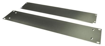 Schroff - 20860212 - Schroff Multipac Multipac 系列 天然色 铝/挤制铝 2U 机架式机箱 20860212, 340mm深