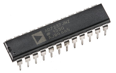 Analog Devices - AD7237JNZ - Analog Devices AD7237JNZ 双 12 位 DAC, 并行接口, 24引脚 PDIP封装