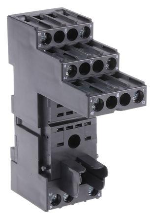 TE Connectivity - PT78722 1415526-1 - TE Connectivity 继电器插座 PT78722 1415526-1, 适用于PT2 系列