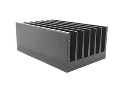 ABL Components - 153AB2000B - ABL Components 100 系列 铝 散热器 153AB2000B, 0.4°C/W, PCB(印刷电路板)安装安装, 200 x 66 x 40mm