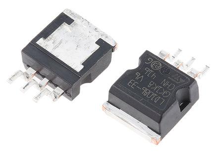 STMicroelectronics - LD1086D2M33TR - STMicroelectronics LD1086D2M33TR LDO 稳压器, 3.3 V输出, 1.5A最大输出, ±1%精确度, 最大为 30 V输入, 3引脚 D2PAK封装