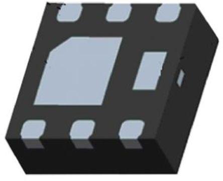 Fairchild Semiconductor - FJMA790 - Fairchild Semiconductor FJMA790 , PNP 双极晶体管, 2 A, Vce=35 V, HFE:100, 1 MHz, 6引脚 MLP封装