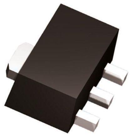 ROHM - 2SB1698T100 - ROHM 2SB1698T100 , PNP 双极晶体管, 1.5 A, Vce=30 V, HFE:270, 100 MHz, 3引脚 SC-62封装