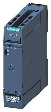 Siemens - 3RP2576-2NW30 - Siemens 单功能 计时继电器 3RP2576-2NW30, 3 → 60 s, DPNO, 2触点, DPST, 12 → 240 V 交流/直流