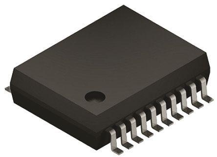 STMicroelectronics - M41ST87WSS6F - STMicroelectronics M41ST87WSS6F 实时时钟 (RTC), 日历功能, 128B RAM, 串行总线, 2.7 → 3.6 V电源, 20引脚 SSOP封装