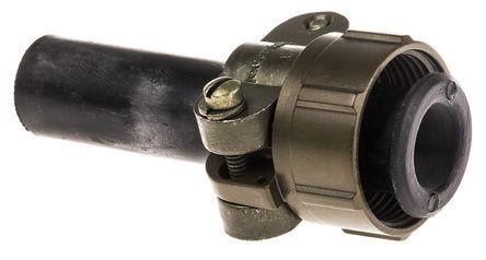 Amphenol - 97-3057-1008-1 - Amphenol 97 系列 橄榄色 铝合金 电缆夹 97-3057-1008-1, 14.27mm 捆束直径