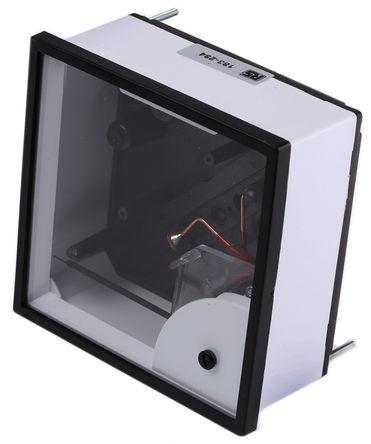 HOBUT - D96MIS5A6/2-001 NO DIAL - HOBUT D96SD 系列 0/5/30A 交流 模拟面板电流表 D96MIS5A6/2-001 NO DIAL, 96mm 宽 x 38.5mm 深, 精确度 1.5 级